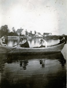 Barlow's Pond – Early 1900s