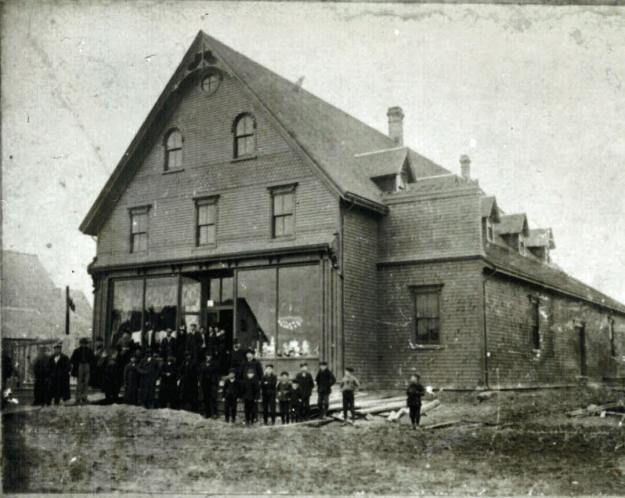 J.O. Arsenault & Co. Store – Perhaps on the day of its Official Opening in 1900