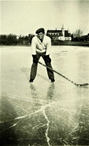 Lorne Bell on Barlow's Millpond – late 1930s