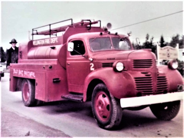 Wellington's Second Fire Truck in 1970