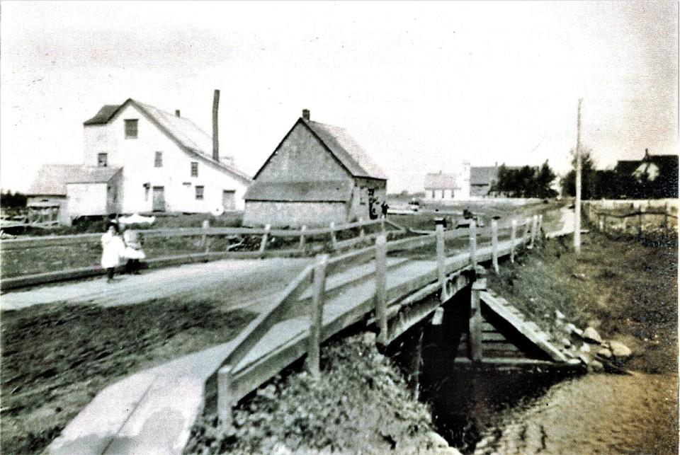 Barlow's Mills in 1909