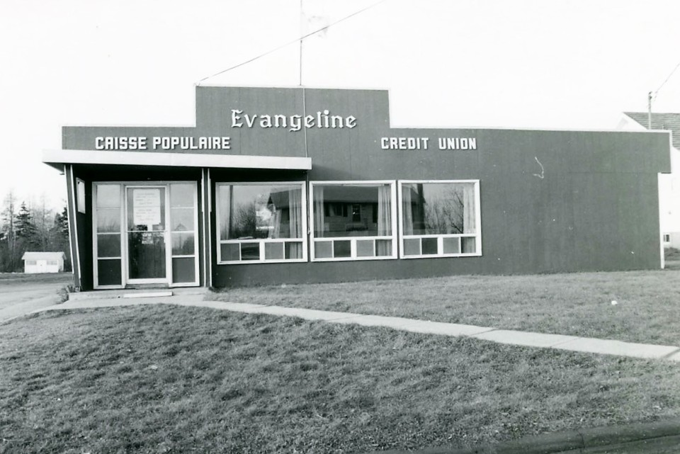Caisse populaire ÉvangélineCredit Union in 1971