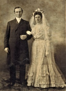 Dr. Mark Delaney and Mary Cosgrove in 1906